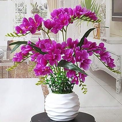 Orchidea di Fiori Artificiali Phalaenopsis Decorazione ...