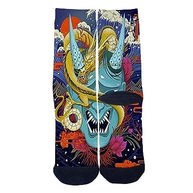 Customized Japanese Ghost Tattoos Socks Mens Womens Socks Unique