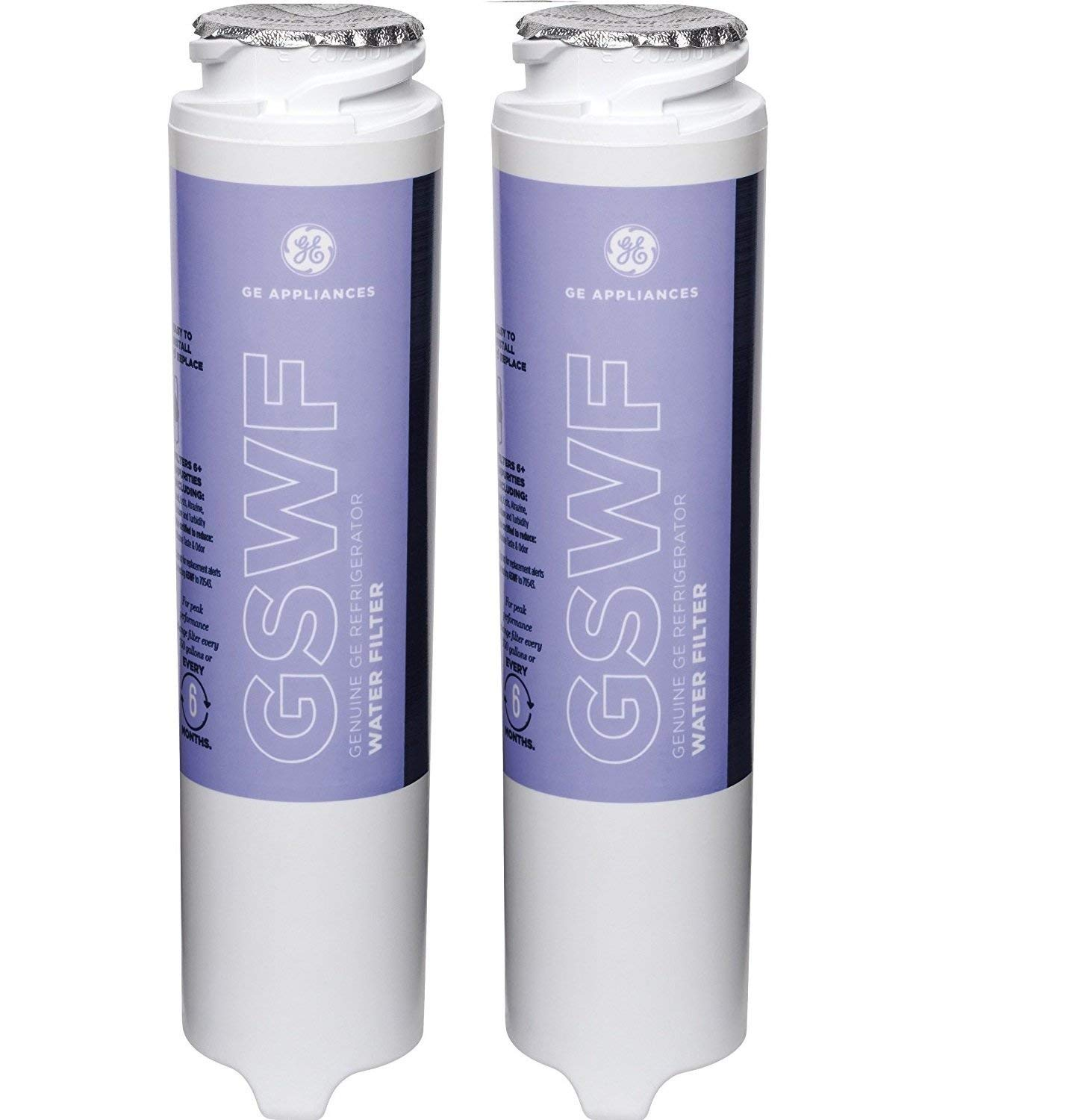 GE GSWF Refrigerator Water Filter (2 pack) by GE