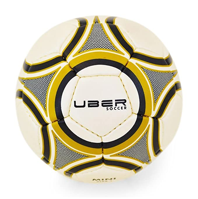 Uber Soccer Skills Mini Pelota de Fútbol – Tamaño 1 – Oro/Negro ...
