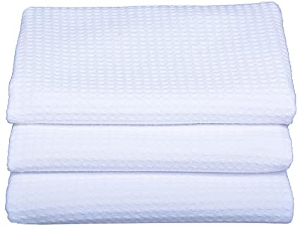 Merveilleux Sinland Microfiber Dish Drying Towels Dish Tolwes Waffle Weave Kitchen  Towels 16 Inch X 24 Inch