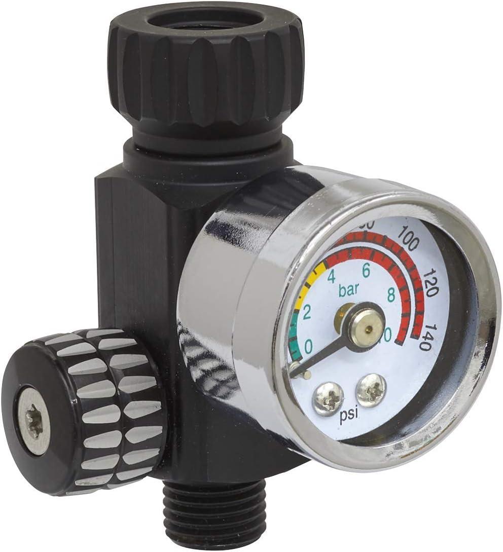 Sealey Ar01 On Gun Air Druckminderer Gauge Baumarkt