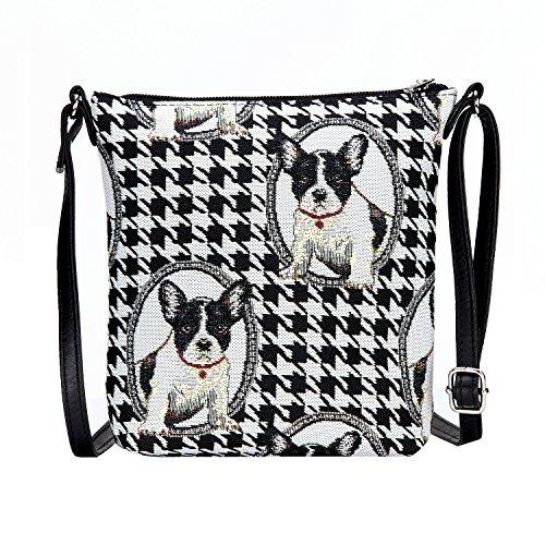 french bulldog messenger bag - 9