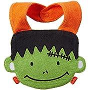 Carter's Unisex Baby Halloween Bib - Frankestein - One Size