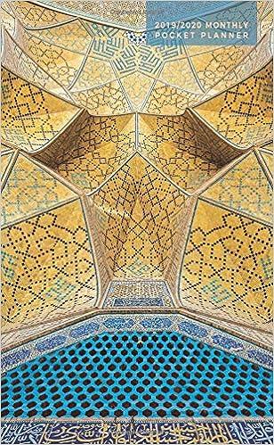 2019-2020 Monthly Pocket Planner: 24 Month Agenda | Mosque ...