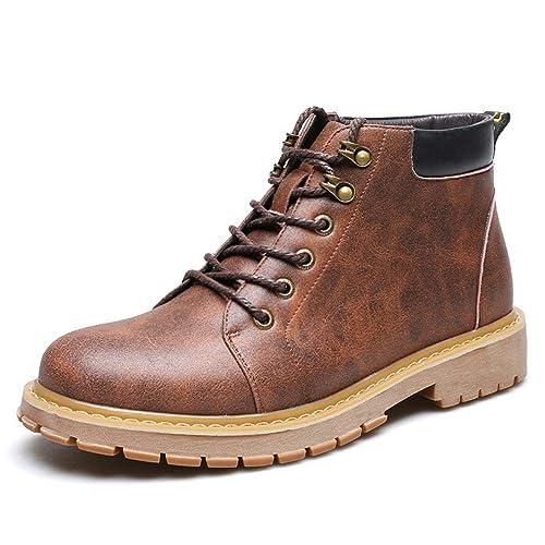 Botines Hombre Bajo Autumn Cordones Impermeables Martin Boots en Charol - GENBOOTS Gentle Martin 2018: Amazon.es: Zapatos y complementos