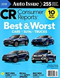 Consumer Reports Magazine (FREE SHIPPING ) 4/2018 Cars Suvs Trucks BEST AND WORST AUTO ISSUE 2018