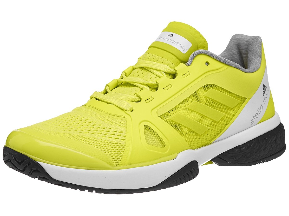 f47671a5063a69 Galleon - Adidas Women s ASMC Barricade Boost Aero Lime White Black 6.5 B  US B (M)