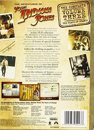 The Adventures Of Young Indiana Jones Vol.3 (10-Disc-Set) [DVD]