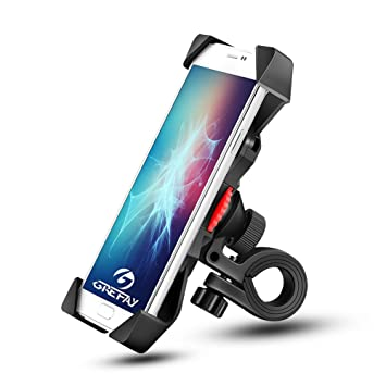 detailed look 3f5c6 dfeb1 Grefay PB03A Bike Phone Mount Universal Bicycle Motorcycle Cell Phone  Holder Smartphone Cradle Clamp 360 Rotatable