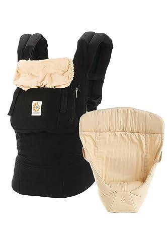 ff19140bce0 Amazon.com   Ergobaby Original Bundle of Joy Baby Carrier Black Camel   Baby