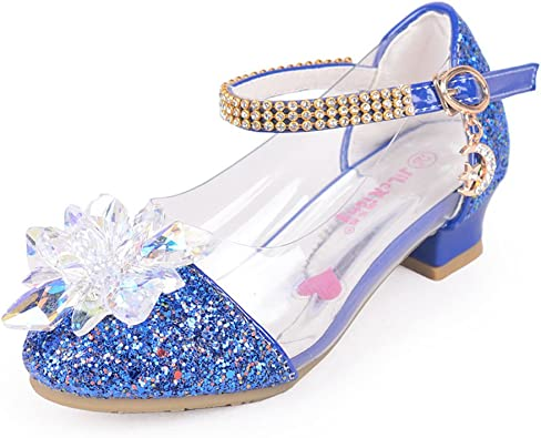 miaoshop Children Shoes Crystal Shiny