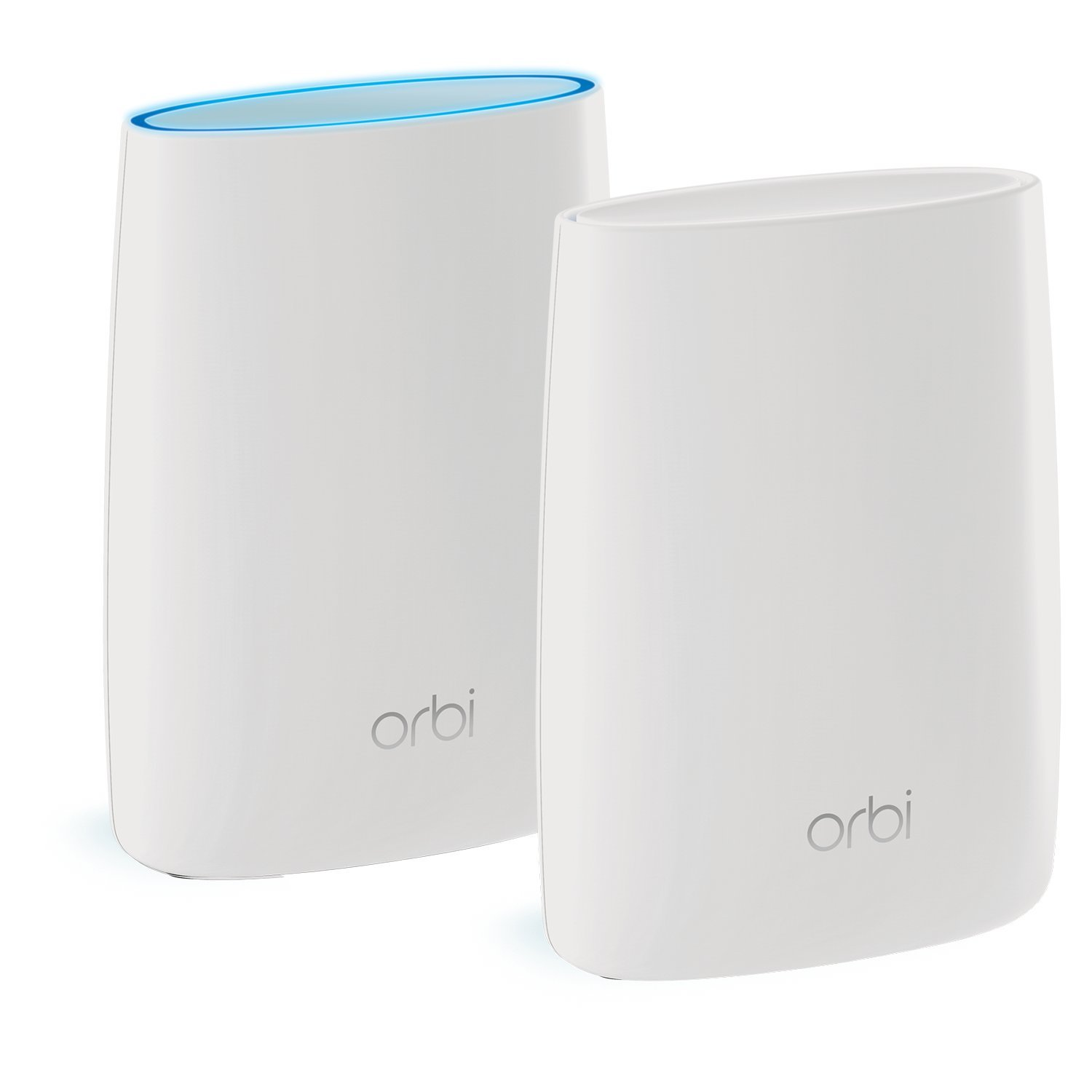 NETGEAR Orbi Whole Home Mesh WiFi System with Tri-band – Eliminate WiFi dead zones, Simple setup, Single network name, Works with Amazon Alexa, Up to 5,000 sqft, AC3000 (Set of 2) by NETGEAR