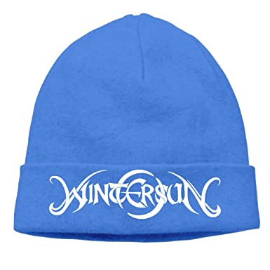 Wintersun Band Darkness And Frost Logo Knit Hat Unisex Cool Beanie  Adjustable Cap c1941555d1f
