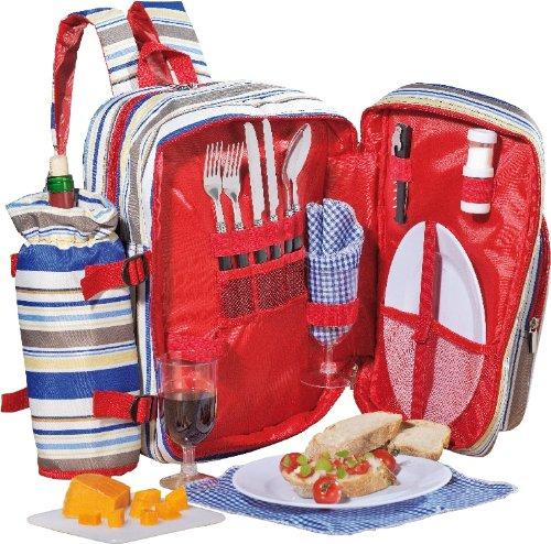 *moderner Picknick Rucksack TRAMP für 2 Personen*