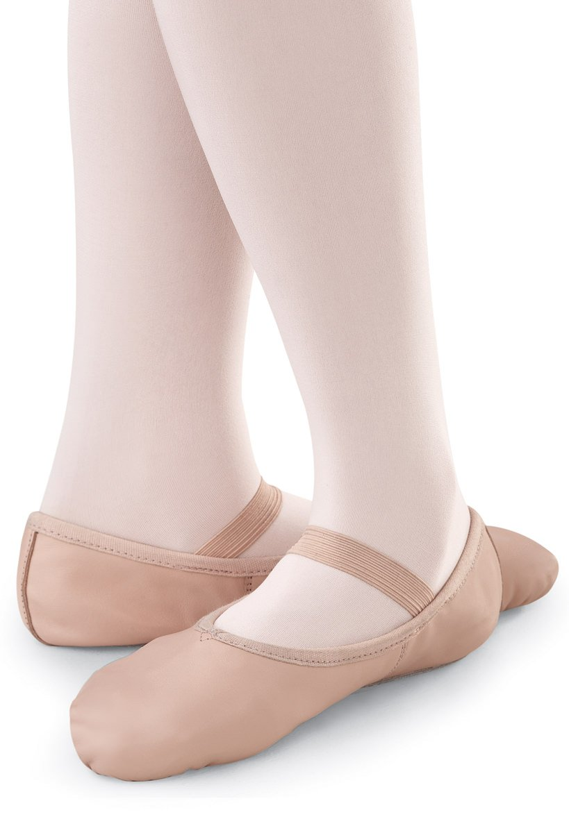 Balera Ballet Shoe Leather Full Sole Ballet Pink 11CM