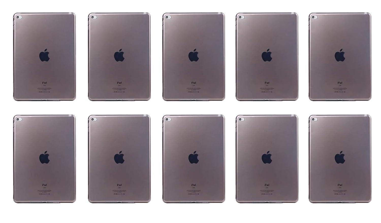 新しい季節 Inesun iPad Mini ソフトTPUゲル 4 クリアケース ソフトTPUゲル Mini シリコンバックカバー 透明ラバースキンケース 10個 保護シェル Apple iPad Mini 4用 10個 (透明ブラック) B07KS8N7DB, カワカミムラ:cbdf28e9 --- a0267596.xsph.ru