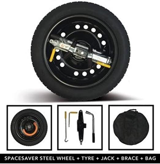Range Rover Evoque Steel Space Saver Wheel & Tyre Kit
