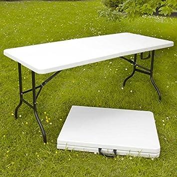 Yad Table Pliante D Appoint Portable Pour Camping Ou Reception 180