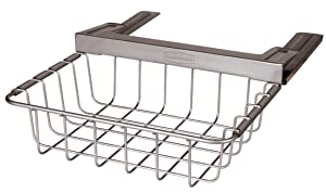 Rubbermaid Slide-Out Under-Shelf Storage Basket, Titanium (FG1H3200TITNM)