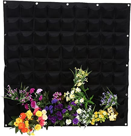 "NEW 12/"" METAL WALL BRACKET FOR HANGING 30CM FLOWER BASKETS PLANTERS GARDEN BLACK"