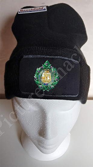 ARGYLL /& SUTHERLAND HIGHLANDERS CAP BADGE PRINTED ON A BASEBALL CAP.
