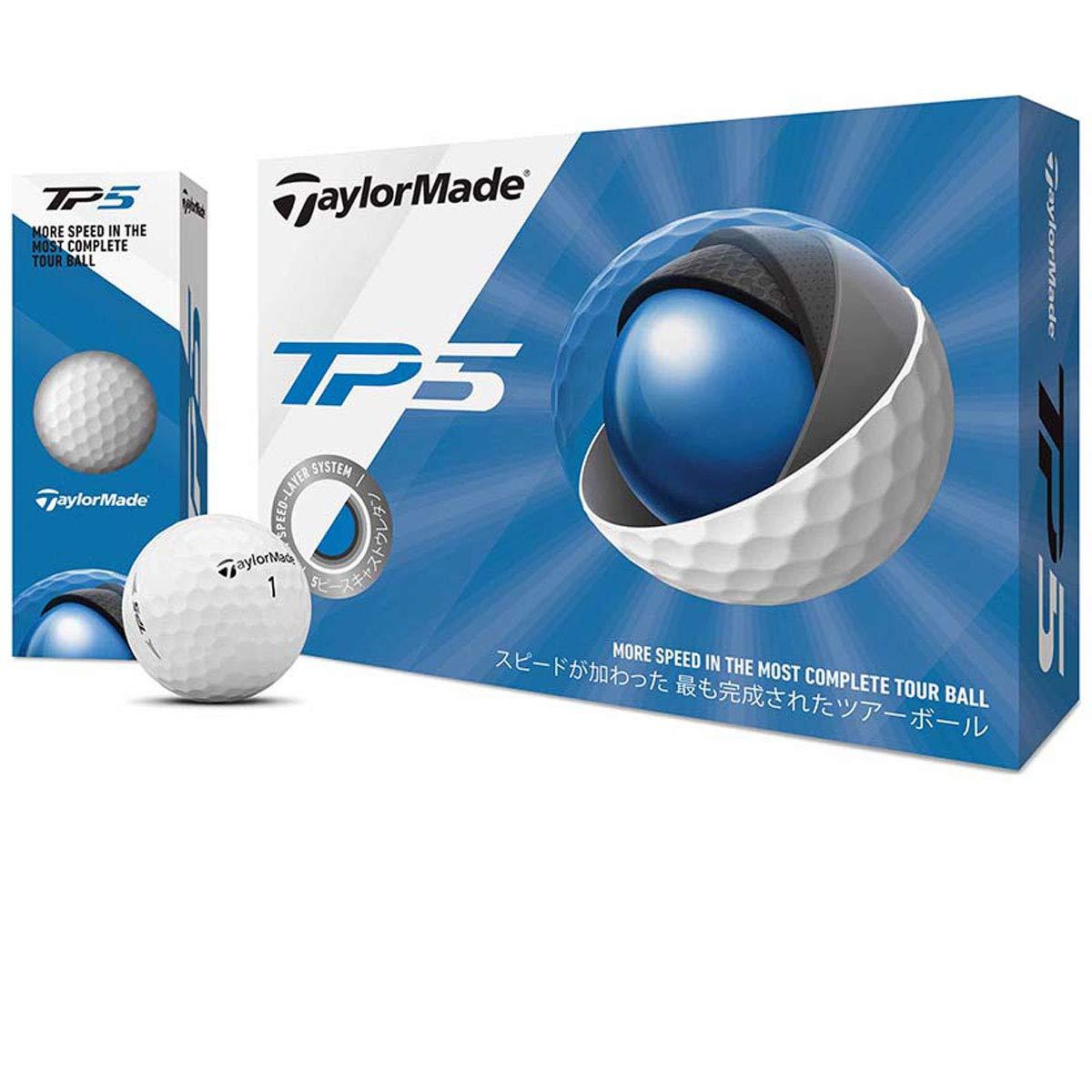 テーラーメイド TP ボール TP5 ボール 3ダースセット 3ダース(36個入り)  ホワイト B07PPLPL7K