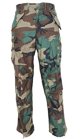 Amazon.com  USGI Vintage M65 Field Pants Woodland Camouflage  Clothing 22b97cc16e4