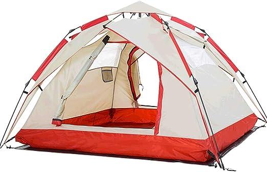 Tienda de campaña LCSHAN automática al Aire Libre para 3~4 Personas, con Doble ventilación, ventilación Familiar, Camping: Amazon.es: Hogar