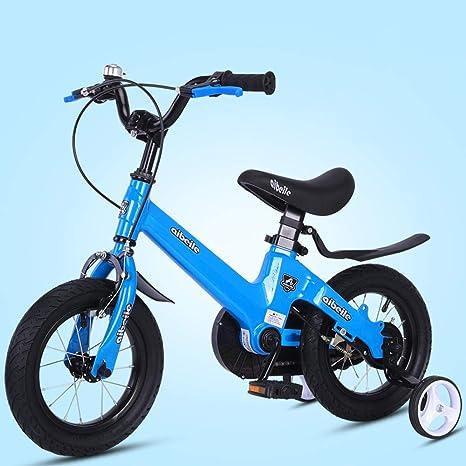 TSDS Bicicleta para niños Bicicleta de Moda Bicicleta Rosa/roja/Amarilla/Dorada para Exteriores: Amazon.es: Deportes y aire libre