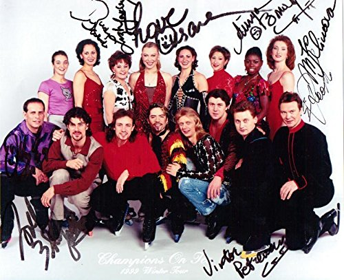 (Signed 1999 Champions On Ice Skating Autographed 8X10 Photo )