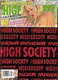 High Society April 2001 Kyla Cole, Ginger Jolie, Sky