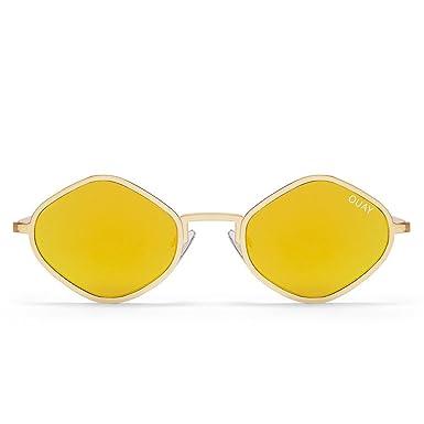Quay Eyewear Damen Sonnenbrille Purple Honey, Gold (Gold), 130