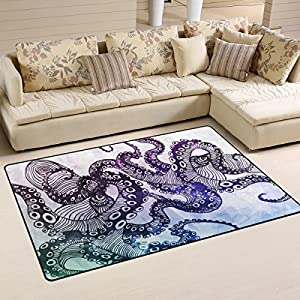 61tZnMp5z7L._SS300_ 50+ Octopus Rugs and Octopus Area Rugs