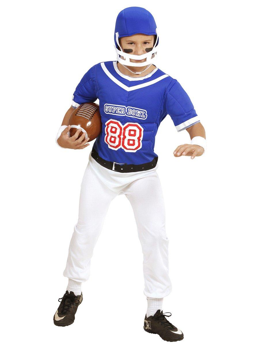 WIDMANN ? Disfraz de futbolista americano para niños: Amazon.es ...