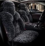 YAOHAOHAO Luxury seat covers car seat covers front & rear, Red Tango