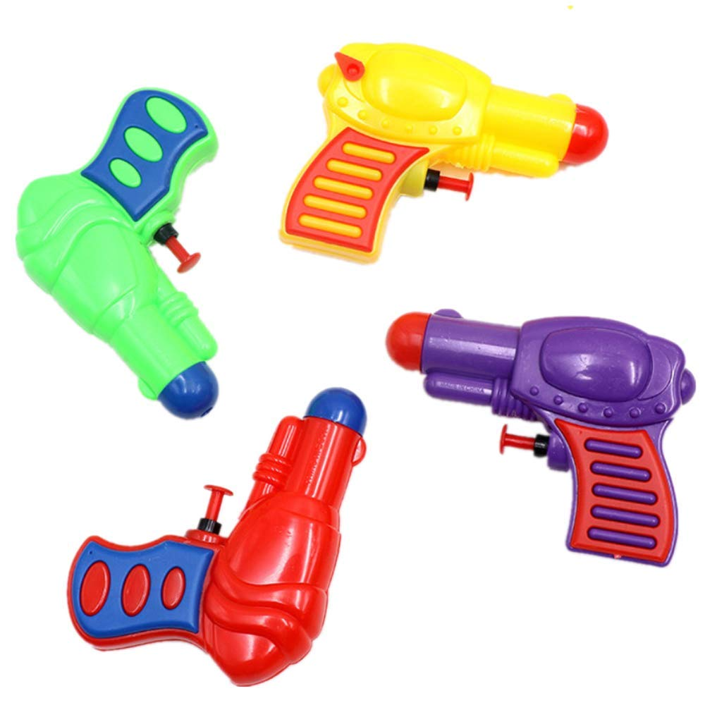 BathBull Water Gun Soakers, 800cc, 2 Pack Blaster Squirt Toys for Kids, Summer Swimming Pool Party, Beach, Outdoor - High Capacity, Long Range.