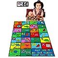 "Large Kids Rug Alphabet Blocks Area Rug 47"" X 69"" New Design # 1"