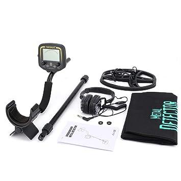 sdfghzsedfgsdfg TX-850 Professional subterráneo Detector de metales de mano Treasure Hunter Buscador de buscador de oro con auriculares LCD de pantalla ...