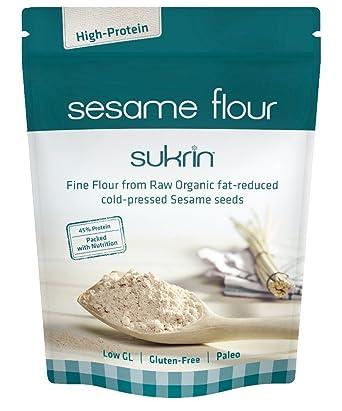 Sukrin Raw Fine Sesame Flour (1 x 250g)