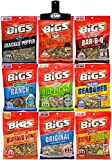 Bigs Sunflower Seed Variety + Bag Clip 5.3oz Bags (9 Pack)