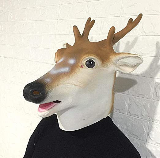 Ning Night Máscaras De Animales De Halloween Tocados Cabeza De ...