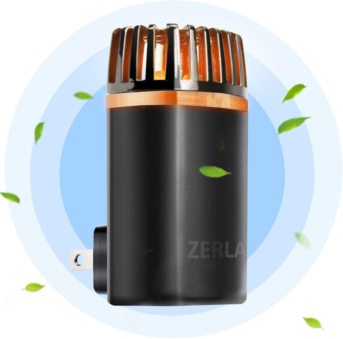 ZERLA Air Purifier for Home,Pluggable Mini Smoke Purifier Odor Eliminator
