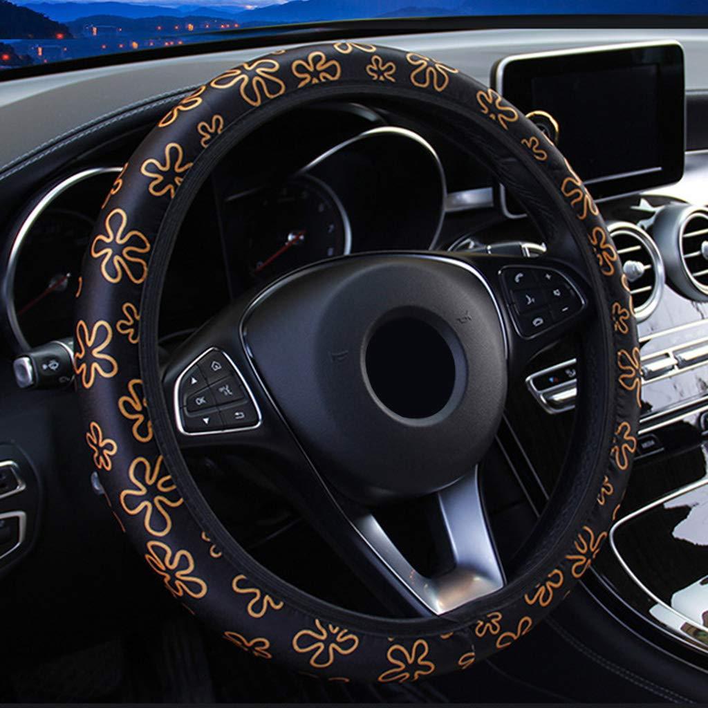 coprivolante elastico con stampa floreale Baodanjiayou per la maggior parte delle auto