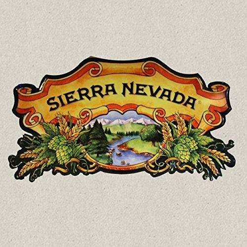 Sierra Nevada Beer Embossed Metal Tacker 20 X 11 Inches