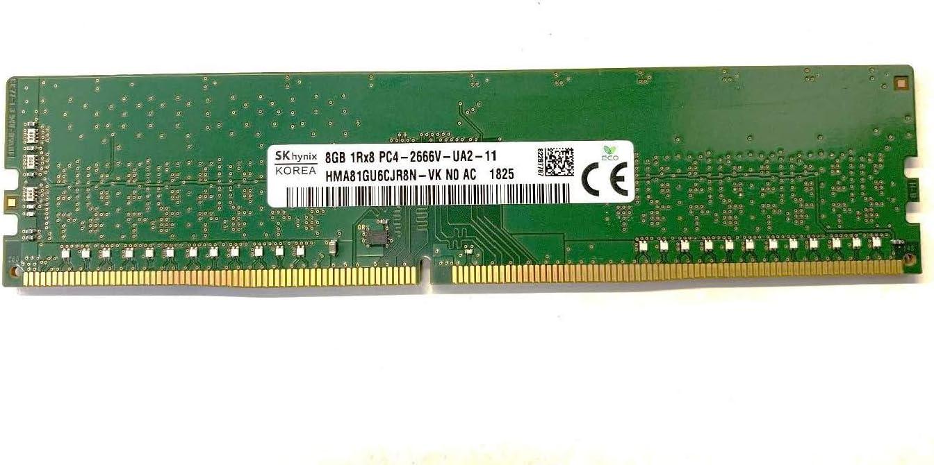 Hynix 8GB PC4-21300 DDR4-2666MHz 288-Pin DIMM 1.2V Memory RAM Module HMA81GU6CJR8N-VK