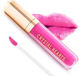 product image for CrystalHearts Matte Liquid Lipstick - Long-Lasting and Non Transfer Kiss Proof Makeup Lip Gloss- Cruelty & Paraben Free Hydrating Lip - Made in USA (Chrissa)