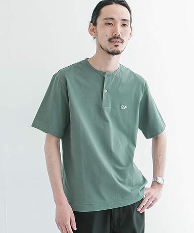 Urban Research x Scye Basics Henley T-Shirt 5120-21495: Sage