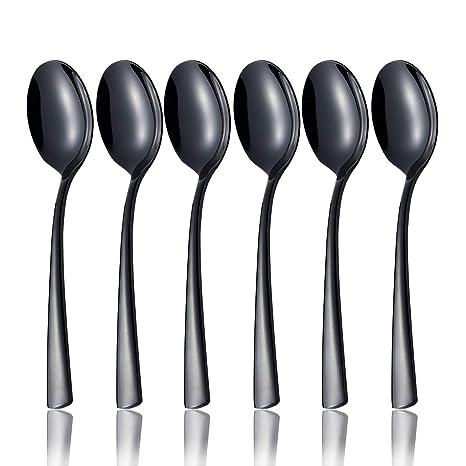 Amazon.com: Silverware - Juego de utensilios de cocina con ...