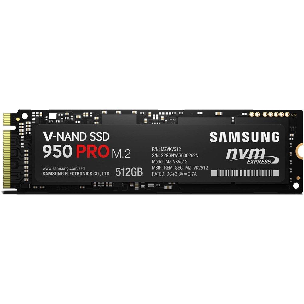Samsung 950 PRO Series - 512GB PCIe NVMe - M.2 Internal SSD (MZ-V5P512BW) by Samsung (Image #1)